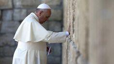 Papa visita lugares sagrados do judaísmo e islamismo