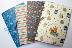 DIY Basics - Buchbinden für Anfänger: Einfaches Heft binden: http://kreativbunt.de/article/Einfaches_Heft_binden/41
