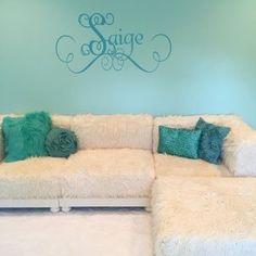 Cushy Lounge Sectional Sofa | Teen Sofa | Pottery Barn Teen Lounge Couch, Lounge Seating, Sectional Sofa, Pb Teen, Corner Chair, Pottery Barn Teen, Armless Chair, Service Design, Plush