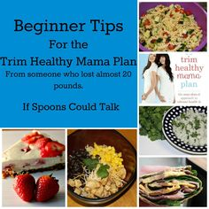 Tips for those starting the Trim Healthy Mama Plan. I lost just under 20 pounds so far and want to help you find success too.