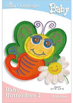 Anita Goodesign   Baby Butterflies 2 - Anita Goodesign