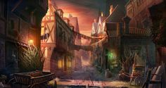 old town by KoTnoneKoT.deviantart.com on @deviantART