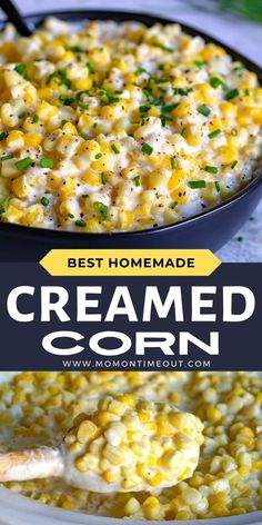 Easy Creamed Corn (Two Ways!)