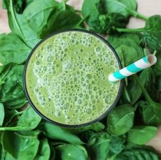 Green Sweetie #Smoothie - Kimdeon.com | Kim D'Eon, Holistic Nutritionist #greensmoothie  Download my free 7-Days-Of-Smoothies Ebook here: http://kimdeon.com/7-days-of-smoothie-goodness-ebook/