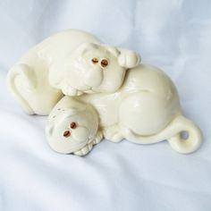 Vintage Fitz & Floyd Cat Salt and Pepper. I used to own this set but can't locate them!