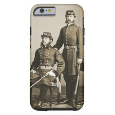 Civil War Brothers [sepia] iPhone 6 Case #civilwar #BiM