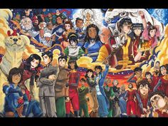 Legacy by Ishmaiah Dado. Great The Last Airbender and Legend of Korra fanart