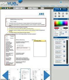 PDFVue: Herramienta online para editar PDF