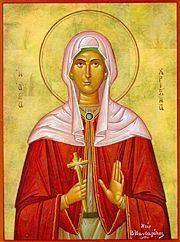 Great Martyr Christina