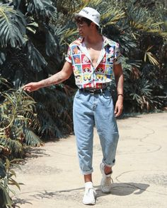 Vintage Summer Outfits, Summer Outfits Men, Stylish Mens Outfits, Retro Outfits, Gym Outfits, 90s Style Outfits, Vintage Hipster Outfits, Soft Grunge Outfits, Men Summer