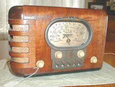 radio, Zenith, 1939