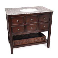 """Simpli Home Burnaby 36"""" Bathroom Vanity $759"""
