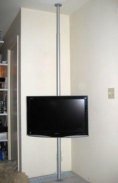 IKEA Hackers: Hang your TV on a pole