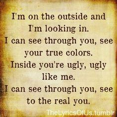 staind outside lyrics - Bing Images on We Heart It Staind Lyrics, Song Lyric Quotes, Music Lyrics, Music Quotes, Music Love, Music Is Life, My Music, Music Stuff, We Will Rock You