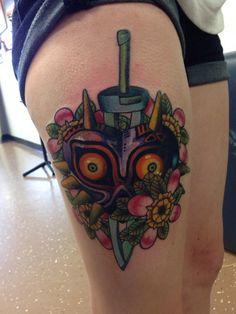 majora's mask tattoo | Tumblr