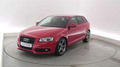 Used 2012 (12 reg) Red Audi A3 2.0 TDI Black Edition 5dr [Start Stop] for sale on RAC Cars