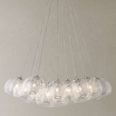 BuyJohn Lewis Knightley Mesh Parachute Cluster Ceiling Light Online at johnlewis.com