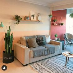 Room Decor Bedroom, Living Room Decor, Colorful Apartment, Piece A Vivre, Apartment Interior, Home Decor Accessories, Home And Living, House Design, Interior Design