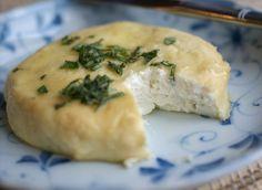 "Almond ""Feta"" Cheese--dairy-free and vegan! Almonds, lemon, oil, garlic and allowed seasonings."