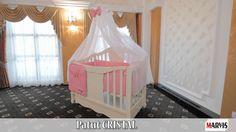 Patut bebe Cristal Pentru Marvis, producătorul de pătuțuri din lemn masiv de fag, calitatea și siguranța sunt pe primul loc!  www.patuturi.ro Cribs, Toddler Bed, Furniture, Home Decor, Crystals, Cots, Child Bed, Decoration Home, Bassinet