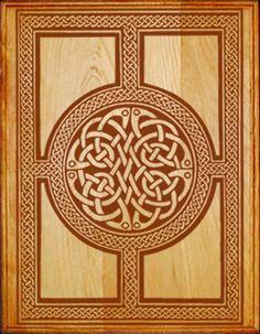 Intricate celtic circle