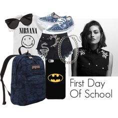 """""""First Day Of School"""" by wynonaryan on Polyvore"""