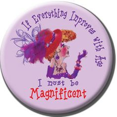 Red Hat Button 463 if everything magnificent