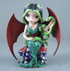 """Royal Vampire Maidens Collection by Jasmine Becket-Griffith; """"Lady Anya"""" Figurine    (Have)"""