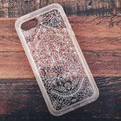 Anthropologie Etched Glass iPhone 5C Case #anthrofave