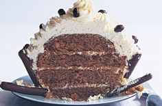 Coffee and Hazelnut Giant Cupcake - Fiona Cairns - goodtoknow uk