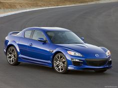 Mazda RX-8. Maybe when all my kids can drive lol