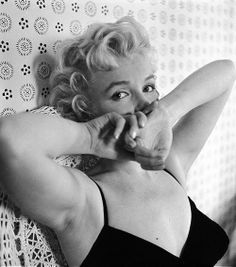 Marilyn Monroe by Cecil Beaton, February 22nd 1956