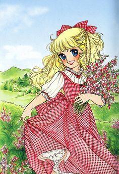 Feh Yes Vintage Manga — Igarashi Yumiko Old Anime, Anime Manga, Anime Art, Vintage Cartoon, Cartoon Art, Candy Manga, Candy Drawing, Heros Comics, Art Magique
