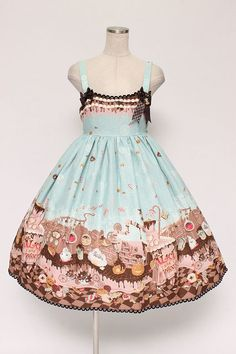 ALICE and the PIRATES / Tricky Nightmare Factory jumper skirt type II - closet child online shop