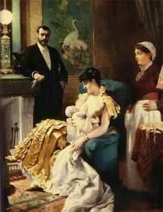 lactancia en la clase alta #breastfeedingart