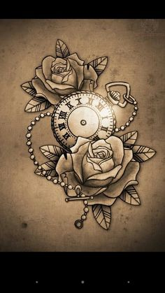 Thinking about getting a tattoo similar to this but putting the time I were born on the pocket watch as a thigh peice. Hmmm? Do I? Dont I?