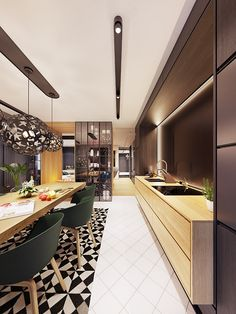 Family friendly home packed with modern decor ideas & home design features for different rooms. Find storage ideas, new furniture styles and colour combinations Furniture Styles, New Furniture, Futuristisches Design, Interior Design, Skyfall, Contemporary Interior, Kitchen Interior, Modern Decor, Kitchens