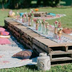15 tendências para os casamentos de 2016 - Berries and Love 5. Mesas comunitárias