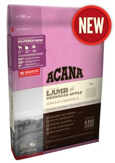 Lamb & Okanagan Apple | ACANA Pet Foods