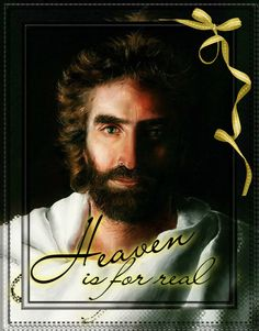Heaven is For Real: Akiane Kramarik's painting of Jesus (as seen in the movie Heaven is for Real); Colton agreed with the depiction