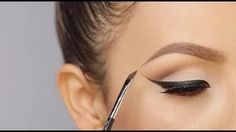 Eyebrow tutorial for girls with almost no brows Desi Perkins - YouTube