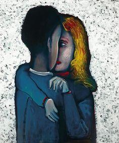 Paintings - Charles Blackman - Page 12 - Australian Art Auction Records Australian Painters, Australian Artists, Gustav Klimt, Alice In Wonderland Series, Picasso And Braque, The Embrace, Nostalgia, Autumn Art, Modern Artists