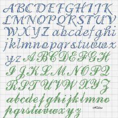 """Képtalálat a következőre: """"Cross stitch alphabet fonts"""" Cross Stitch Letter Patterns, Cross Stitch Letters, Cross Stitch Samplers, Cross Stitch Charts, Cross Stitch Designs, Cross Stitching, Cross Stitch Embroidery, Stitch Patterns, Cross Stitch Font"""
