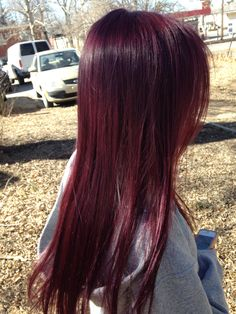 Violet and red hair Violet Brown Hair, Dark Red Hair, Hair Color For Black Hair, Violet Red Hair Color, Brownish Red Hair, Hair Color Streaks, Hair Highlights, Red Hair Inspo, Wine Hair