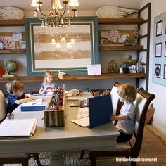 homeschool room essentials | the handmade home (after all one of the best parts of homeschooling is that you don't have to make it a traditional classroom, there is so much more freedom than that!)