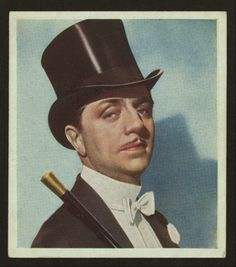 One of my favorite actors... William Powell cigarette card; NYPL Digital Gallery