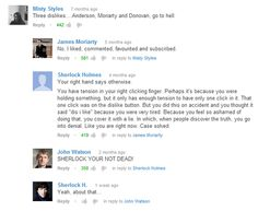 The Sherlock Fandom is shamelessly taking over everywhere...