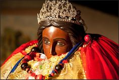 "Saint Sarah, also known as Sara-la-Kali (""Sara the Black"", Romani: Sara e Kali), is the mythic patron saint of the Romani people. Legend identifies her as the servant of one of the Three Marys, with whom she is supposed to have arrived in the Camargue."