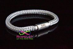 Oooh this silver Ropelet is waiting for you in our online shop at www.ropelet.co.uk where you will find a big choice of handmade rope bracelets #ropelet #handmadebracelet #jewelery #bracelet #ropebracelet