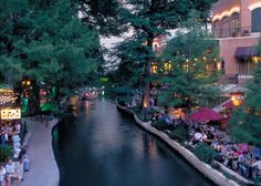 The Riverwalk. San Antonio, TX